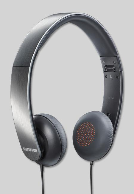 Powieksz do pelnego rozmiaru Shure SRH 145, Shure SRH145, Shure SRH-145, słuchawki hi-fi, słuchawki domowe, słuchawki przenośne, słuchawki do MP3, słuchawki do odtwarzacza MP3, słuchawki do odtwarzaczy MP 3, słuchawki do iPod, słuchawki do iPad, słuchawki do iPhone, słuchawki z pałąkiem, słuchawki nagłowne, słuchawki nauszne, słuchawki zamknięte